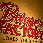 バーガーファクトリー - 店内ロゴ