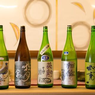 京都の地酒とあわせて、自慢のお料理をお召し上がりください