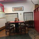 張広東飯店 桜園 - 丸テーブル席の様子です
