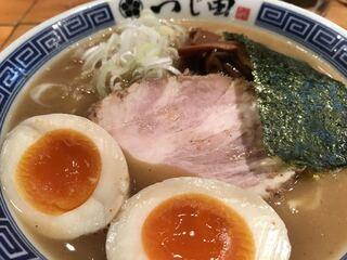 つじ田 神田御茶ノ水店 - 味玉濃厚ラーメン
