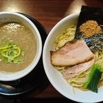 麺の風 祥気 - 濃厚鶏搾りつけそば(塩)(並盛)