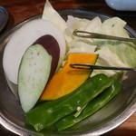ホルモン栄楽 - 野菜