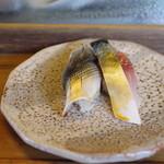 紀文寿司 - 小鰭、鯖