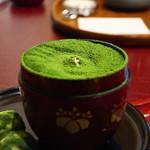茶三楽 - 抹茶ケーキ