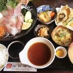 西村商店 - ワカナ刺し スペシャルは天ぷら付