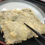 麺八 - 昆布天100円(税込)