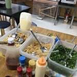 麺八 - 無料トッピング
