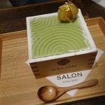 118844554 - 茶房パフェ 日本庭園風