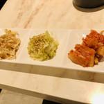 焼肉 粋 - 前菜ナムル