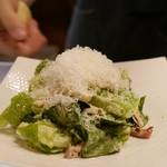 GRILL HIRO - 炭焼きベーコンのシーザーサラダ