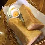cafe gotoo - トーストセット 450円
