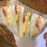 cafe gotoo - サンドイッチセット 550円