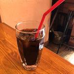cafe gotoo - セットのアイスコーヒー