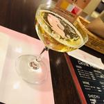カフェ&バイキング シャガール - スパークリングワイン白