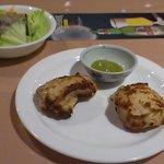 ナマステ  - 料理写真:サラダとスープ