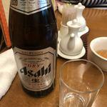 ぎをん森幸 - お昼から瓶ビール
