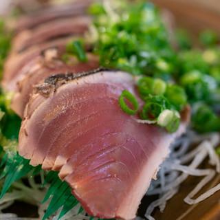 田中鮮魚店 - 料理写真:2019.10 カツオのタタキ(700円)