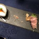 銀座イタリアン Fabi's  - ポタージュ&前菜