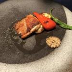 銀座イタリアン Fabi's  - メイン ー 鶏のコンフィ