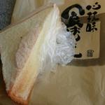 食ぱん道 - シュガートースト 100円