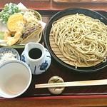 蓬 - 「天ざる蕎麦」③