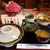 喫茶 今昔 - 料理写真:「飛騨牛の朴葉味噌焼き定食」を注文。