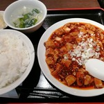 龍驤 - 麻婆豆腐定食 600円