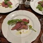 ビストロ ル マリアージュ - トスカーナ産キアーニ肉のタリアータ