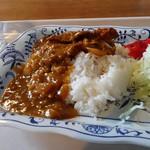 立教大学 第一食堂 - カツカレー390円