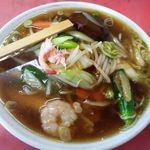 11887559 - 広東麺(うま煮そば)\840