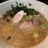 自家製麺 KANARI - 料理写真:豚骨うおだしそば 塩