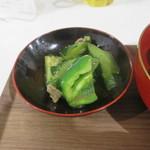 Okatte - ピーマンの炒め物