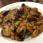 中国料理 金春新館 - 麻婆茄子