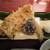 手打そば 大川や - 穴子と季節野菜の天ぷら