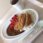 和洋女子大学 学生ホール - 料理写真:カツカレー(^∇^)