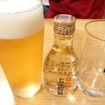 上州屋 - ドリンク写真:生ビ-ル&七年貯蔵焼酎