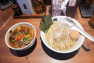 カラシビつけ麺 鬼金棒 - 特製カラシビつけ麺