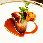 セント レジス ホテル - 仔牛のソテー 赤ワインソース