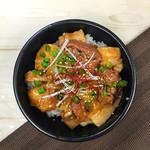 ジンギスカン 七福 - ランチ ラム豚丼