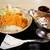 日本海食堂 - 料理写真:ボリュームたっぷりのカツカレー。
