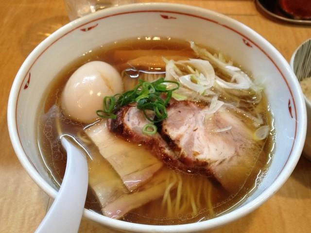 Japanese Soba Noodles 蔦 - 特煮干らぁ麺