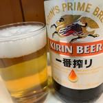 とりかつ チキン - ビール