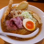 麺堂 稲葉 - 特製牛耳るらーめん大盛り1,100円