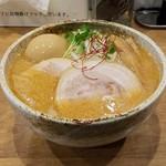 自家製麺 らーめん工房 縁 - 料理写真:味玉味噌ラーメン(*´>ω<`*)