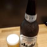 118899569 - アサヒスーパードライ大瓶470円