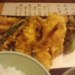 秀 - 天ぷら定食
