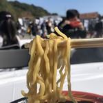 豚の骨 - 硬めちぢれ麺(松戸モリヒロフェスタ「真ラーメン祭り絆」)