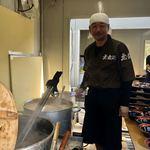 豚の骨 - 「無鉄砲」赤迫代表(松戸モリヒロフェスタ「真ラーメン祭り絆」)