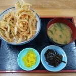 四季の海鮮 魚々味 - かき揚げ丼