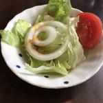 洋食屋満里奈 - サラダ